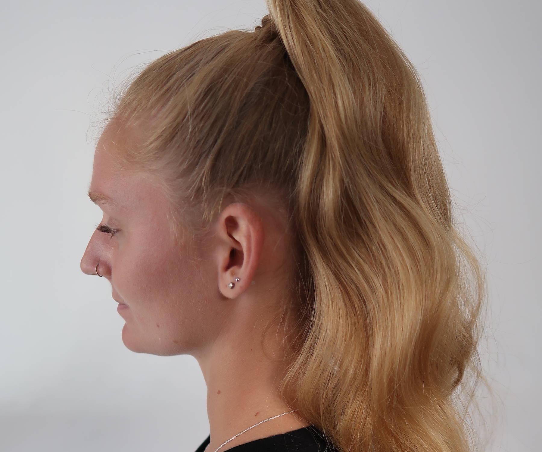 High ponytail tutorial Davines