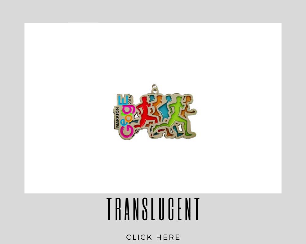 Custom Translucent Corporate Medallions