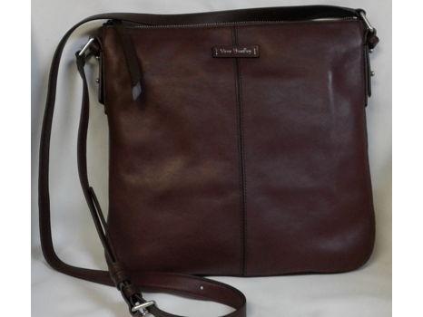Vera Bradley Chocolate Leather Crossbody