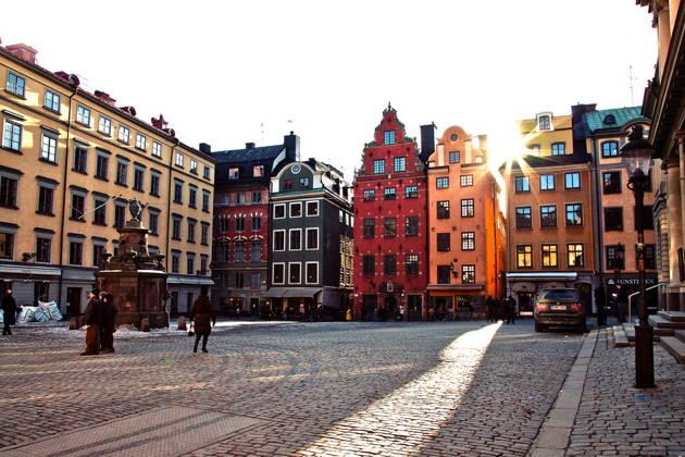 Нетуристический Стокгольм