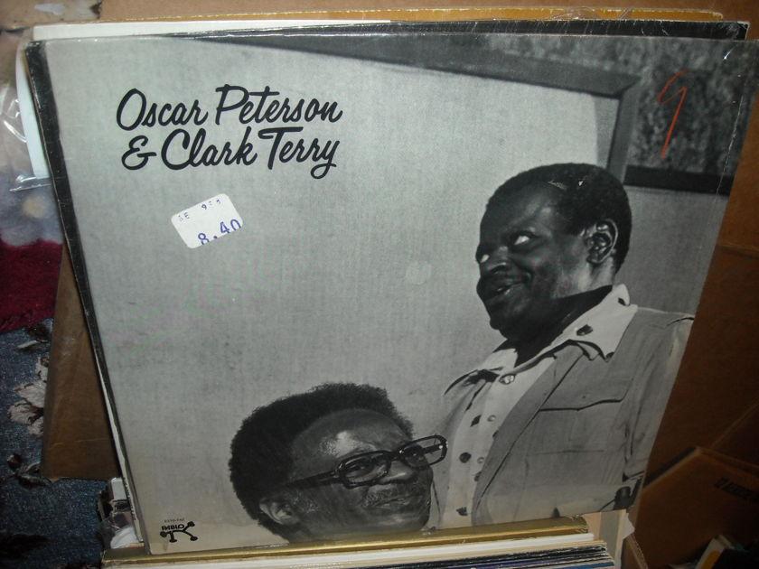 (lec) Oscar Peterson & Clark Terry - (no title) Pablo LP (c)