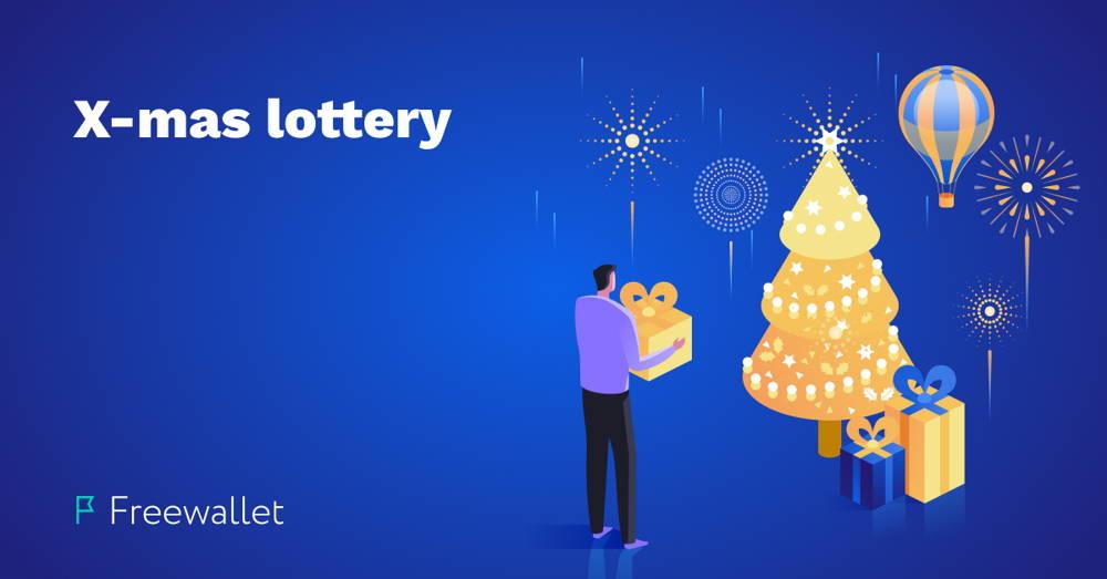 X-mas lottery on Freewallet
