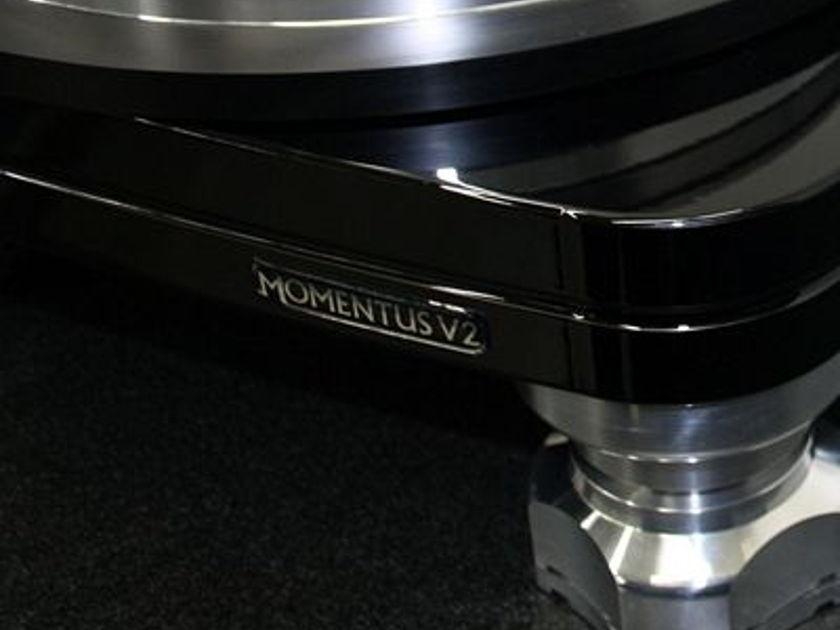 TTW Audio **NEW** Flagship Turntable Momentus V2/TTW Custom Graham Supreme II VTA Digital Glider Pod/Ortofon MC Winfeld