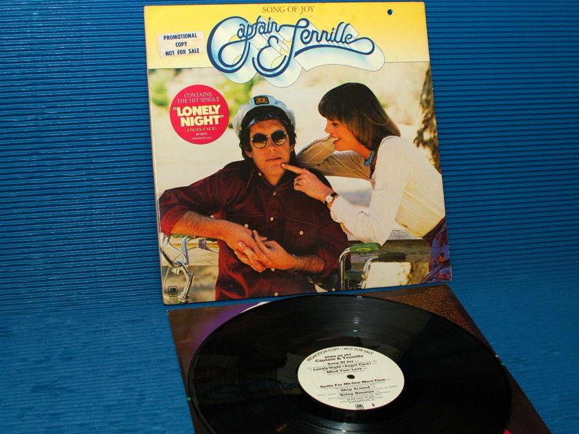 """CAPTAIN & TENNILLE - - """"Song of Joy"""" -  A&M WLP promo 1976"""