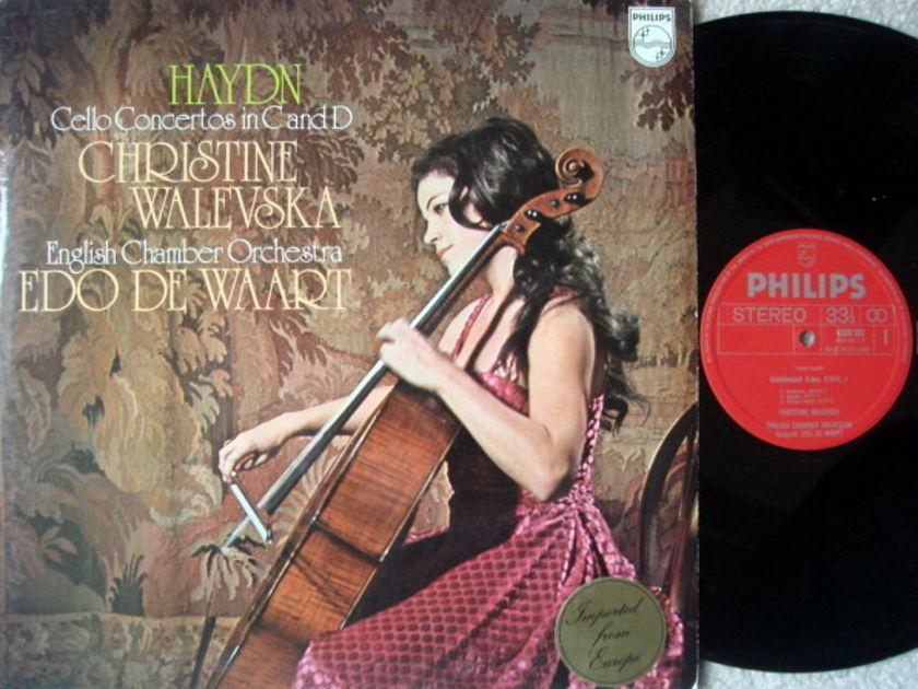 Philips / WALEVSKA-DE WAART, - Haydn Cello Concertos No.1 & 2, NM!