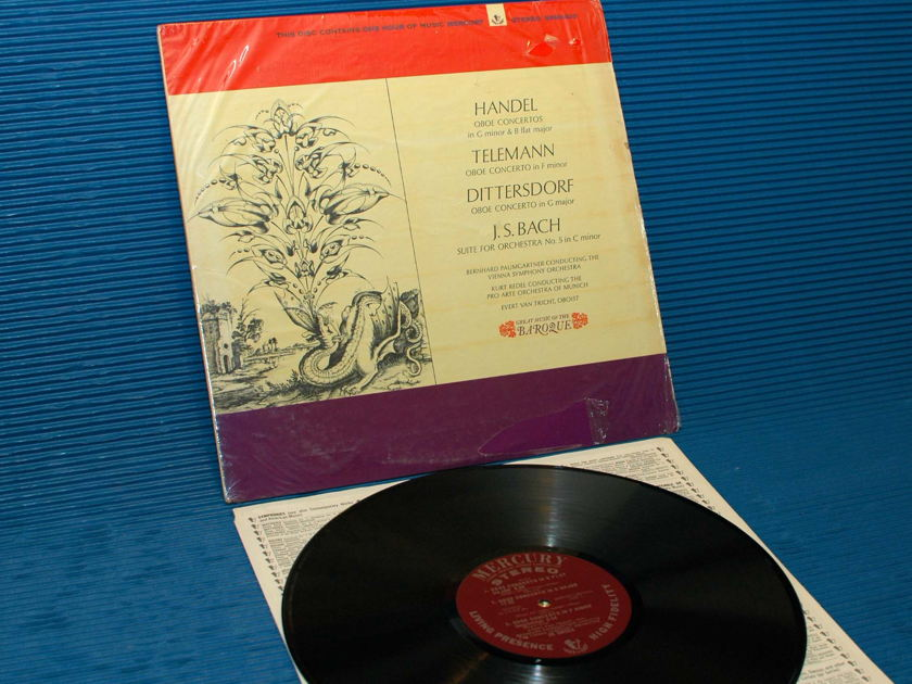"BACH/HANDEL -  - ""Great Music Of The Baroque"" -  Mercury Living Presence1965 1st pressing"