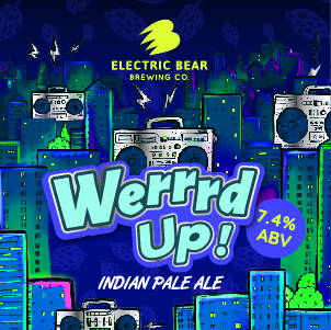 Werrrd American pale ale brand image