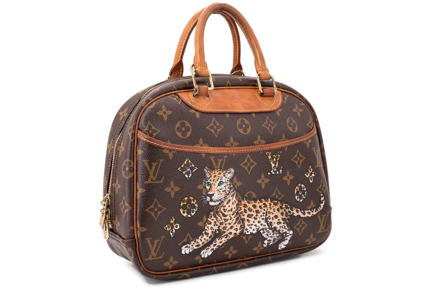 CODOGIRL Custom Pointed Louis Vuitton - Leopard