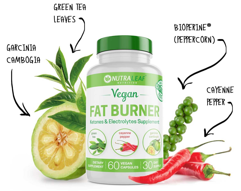 NutraLeaf® Fat Burner (Plant-Based, Vegan, Gluten-Free ...