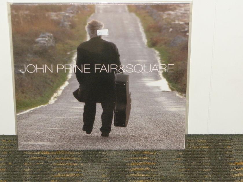 "John Prine - ""Fair And Square"" 2X 180g LP set. Oh Boy OBR-034 Gatefold Cover"