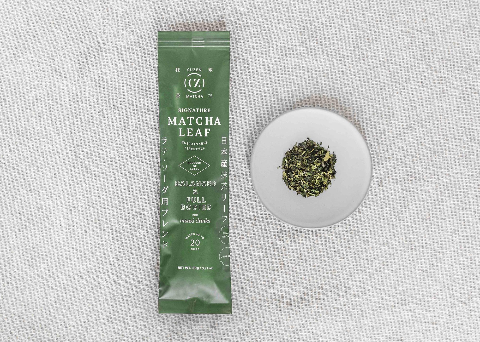 Matcha tea leaves | Signature