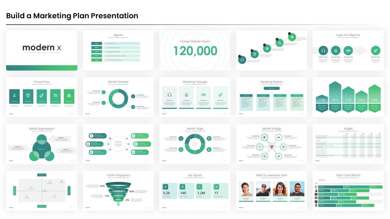 marketing plan powerpoint presentation template, marketing plan presentation template