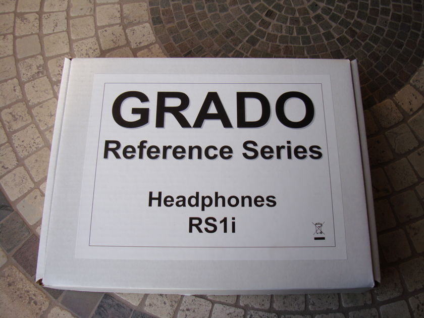 Grado Reference Series RS1i Headphones - Hardly Used -  MINT!
