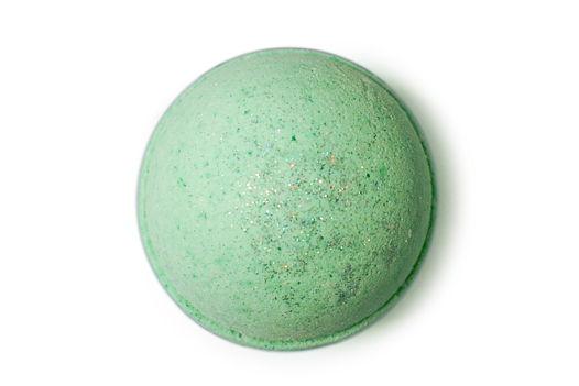 """Зеленая бомбочка для ванны """"Лаванда и Мята"""""""