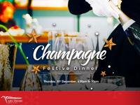 CHAMPAGNE FESTIVE DINNER image
