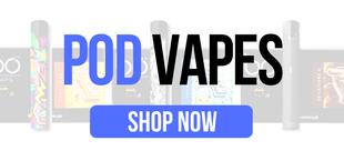 Closed System Pod Vapes/Pod Mods at East Coast Vape Distribution