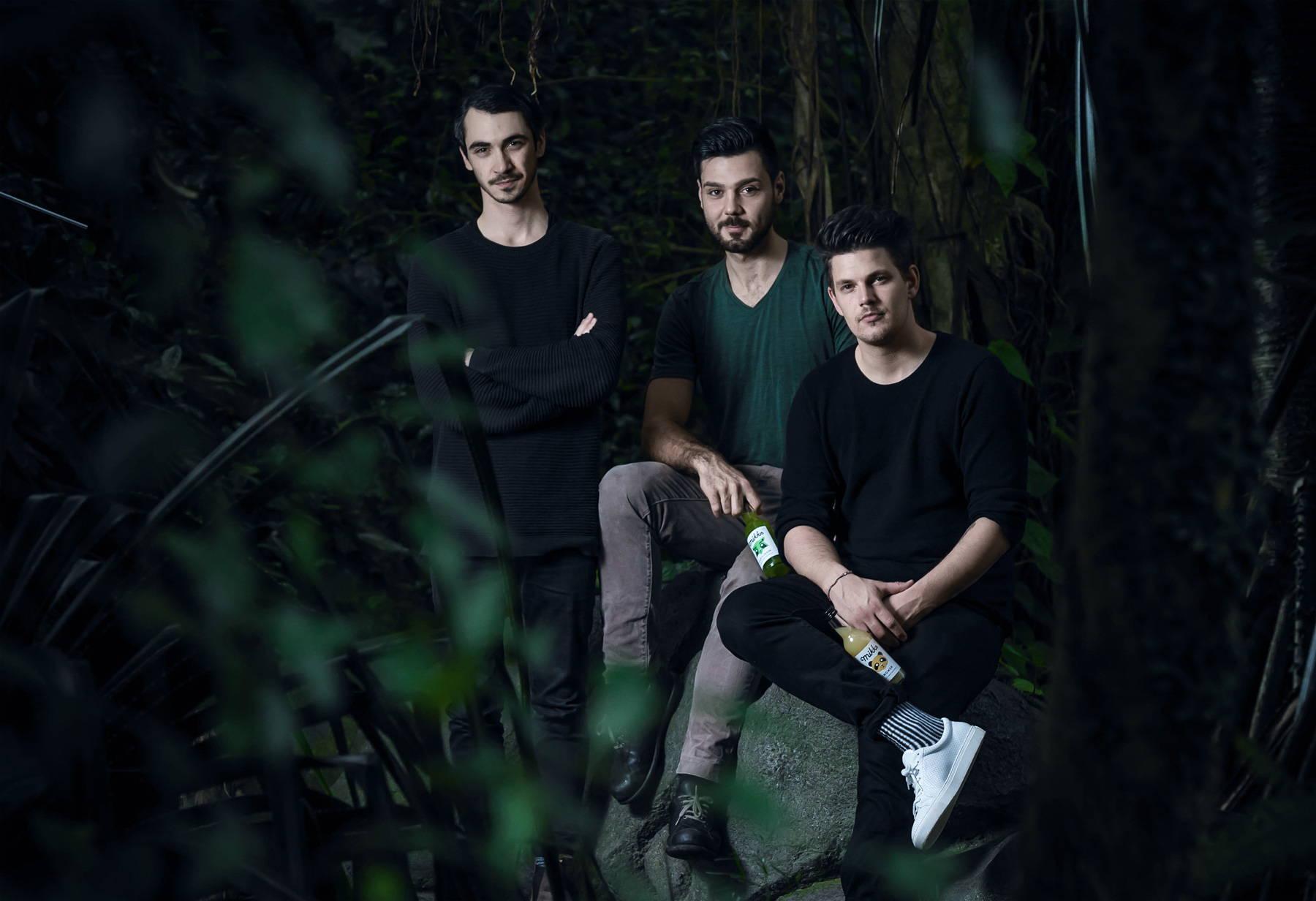 Drei Freunde und ein Wald voller Ideen – Mikks