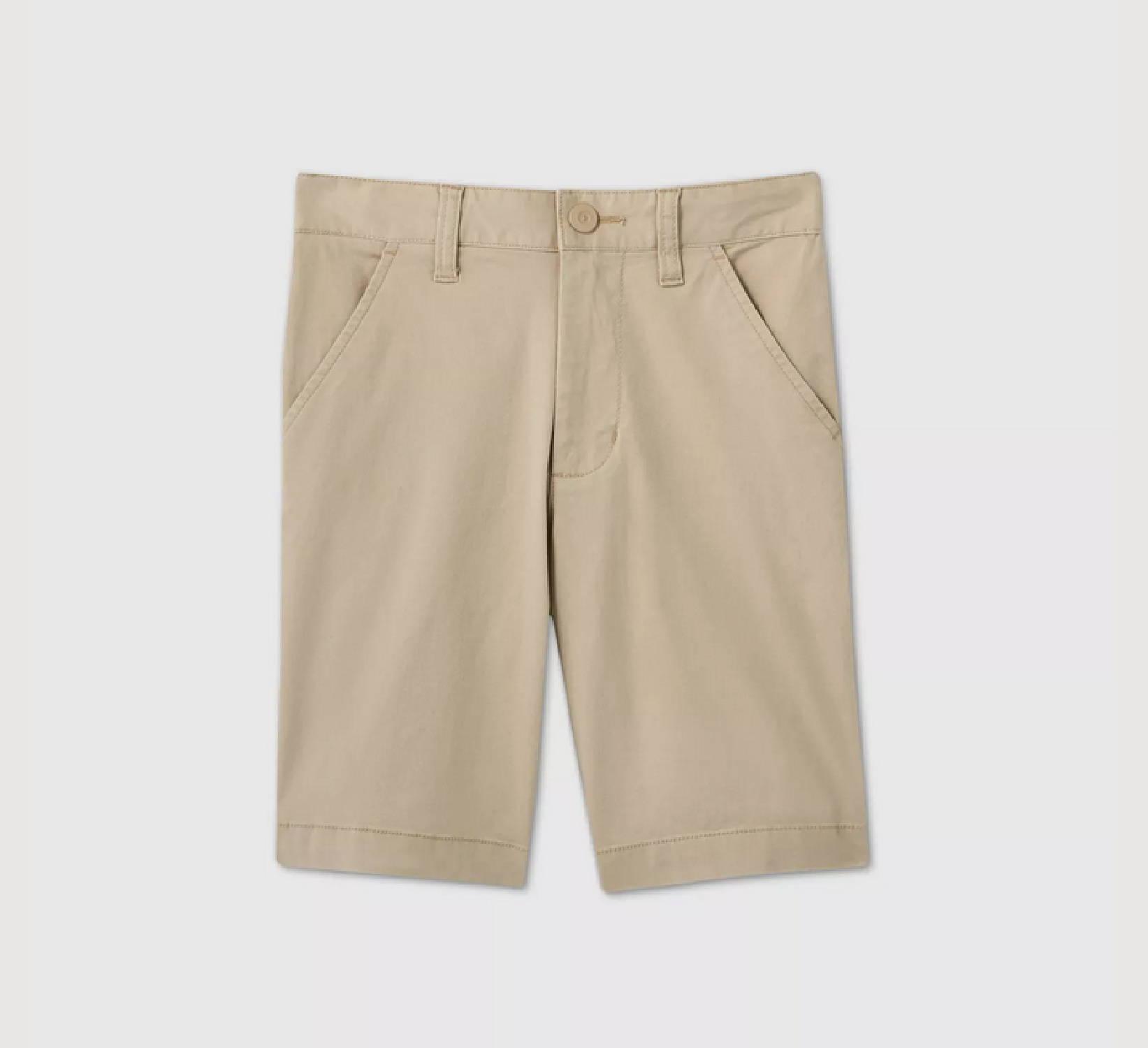 Ring Bearer Khaki Shorts