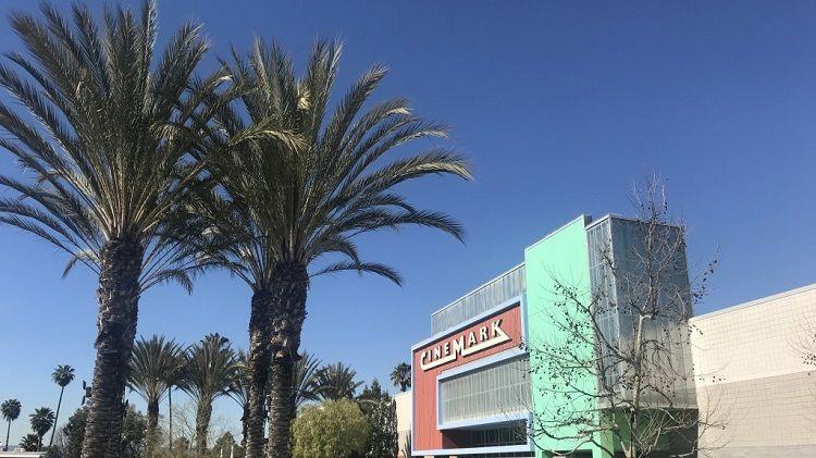The Cinemark cinema in Los Angeles.