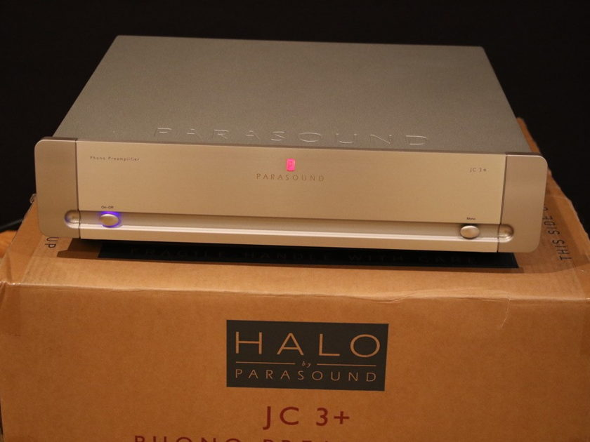 parasound halo jc3 phono preamp mint customer trade in phono audiogon. Black Bedroom Furniture Sets. Home Design Ideas