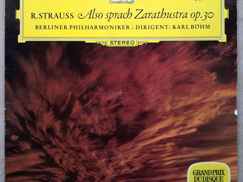 DG | BOHM/STRAUSS - Also Sprach Zarathustra / EX