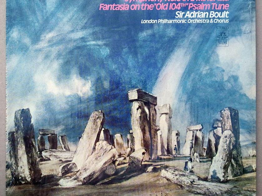 Angel/Boult/Vaughan Williams - Symphony No.9, Fantasia / EX