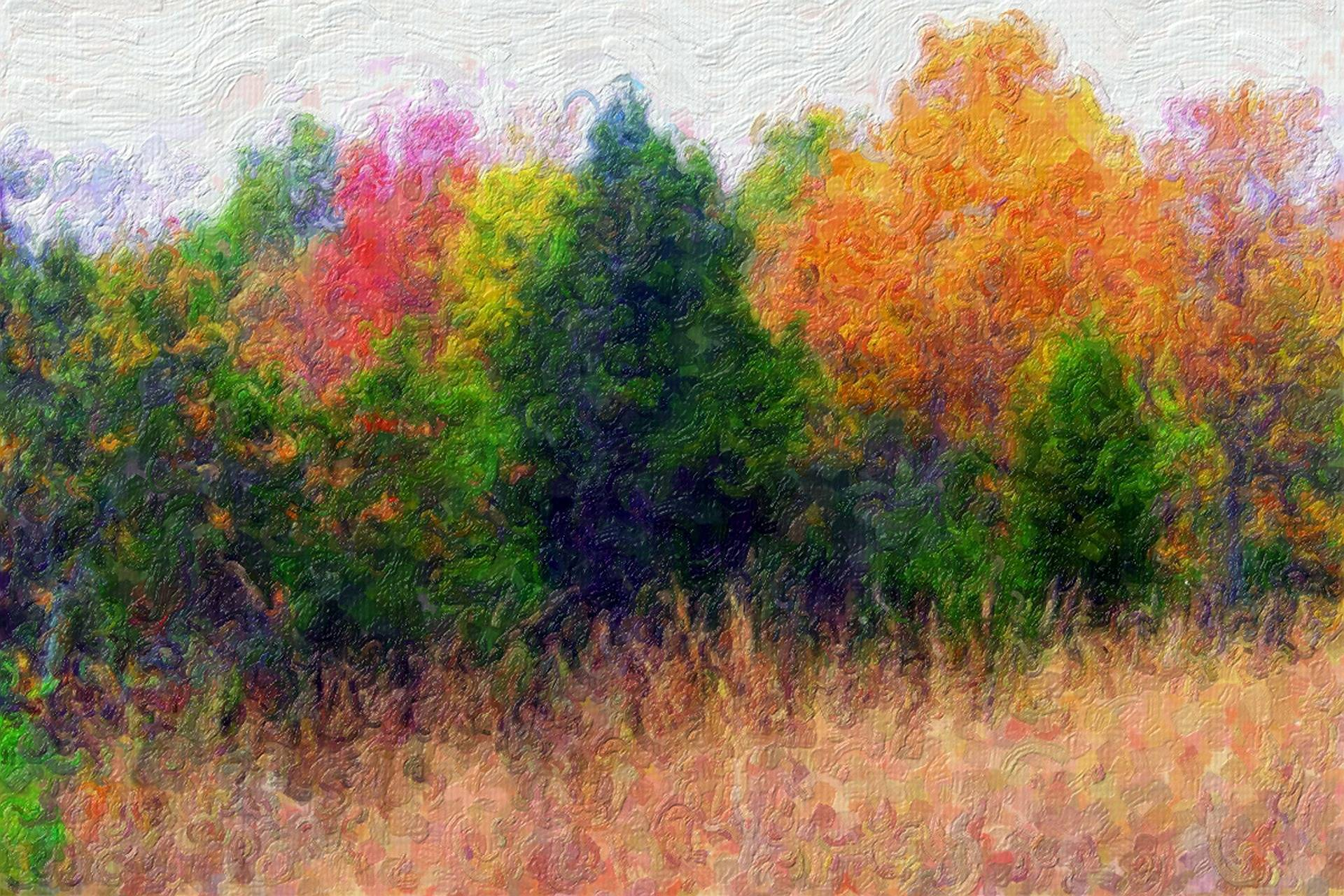 paysage aquarelle