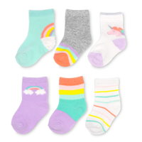 Goldbug toddler girl socks