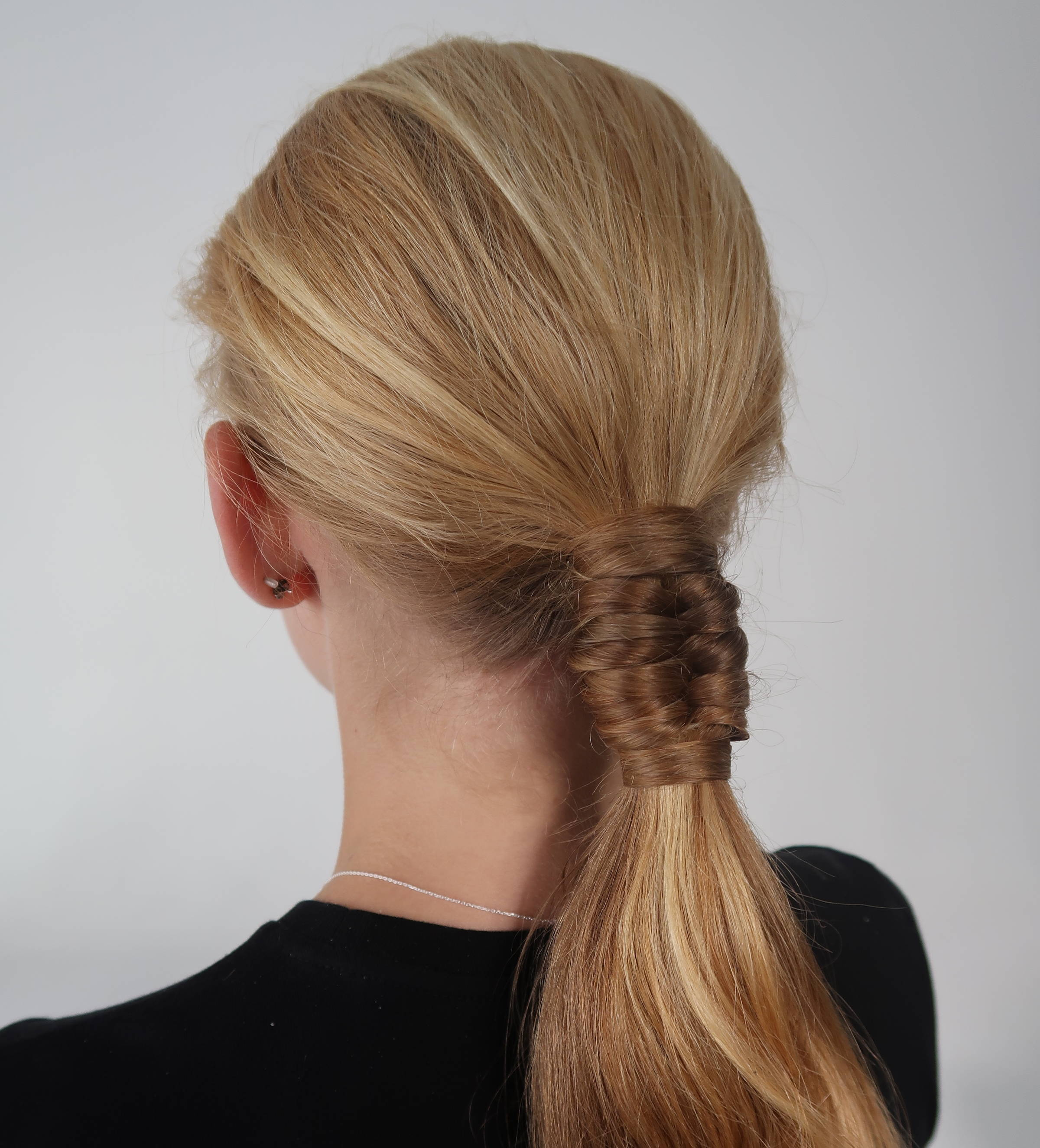 Juliana fishtail braid Davines how to