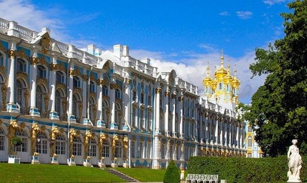 Пушкин (Екатерининский дворец и Янтарная комната)