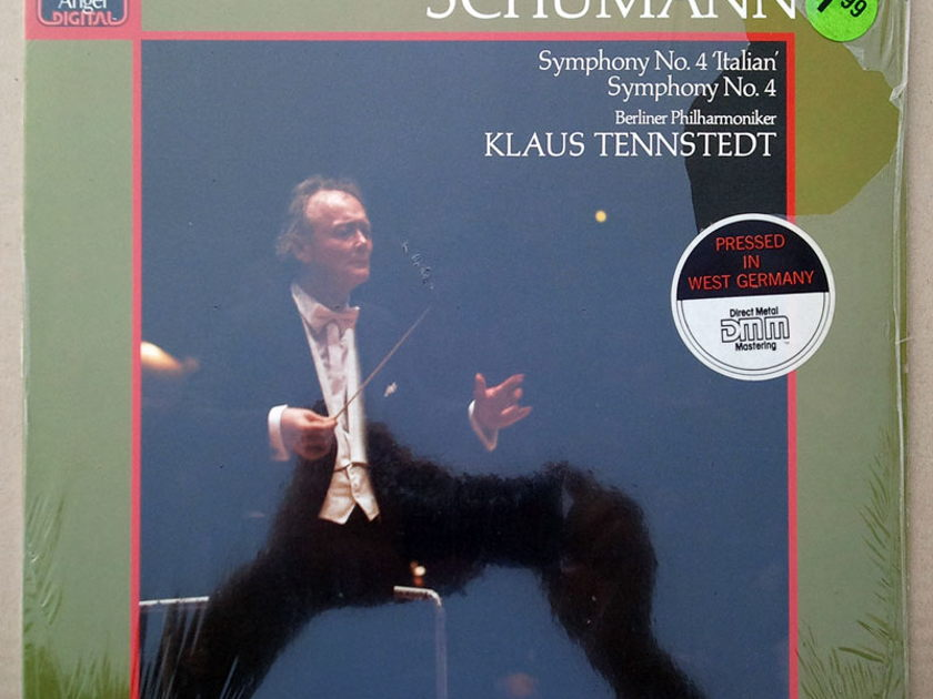 Sealed EMI Digital | TENNSTEDT/MENDELSSOHN - Symphony No. 4 / SCHUMANN Symphony No.4 / German Pressing
