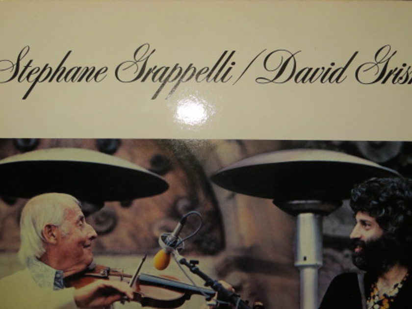 STEPHANE GRAPPELLI/ DAVID GRISMAN - LIVE O'CONNOR-MARSHALL-WASSERMAN