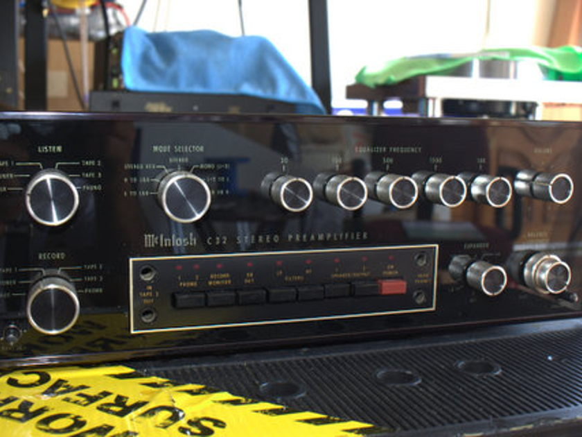 Mcintosh C32 Preamp in excellent condition recently serviced