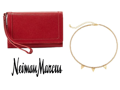 Neiman Marcus Wristlet Phone Pouch and Panacea Beaded Choker Necklace
