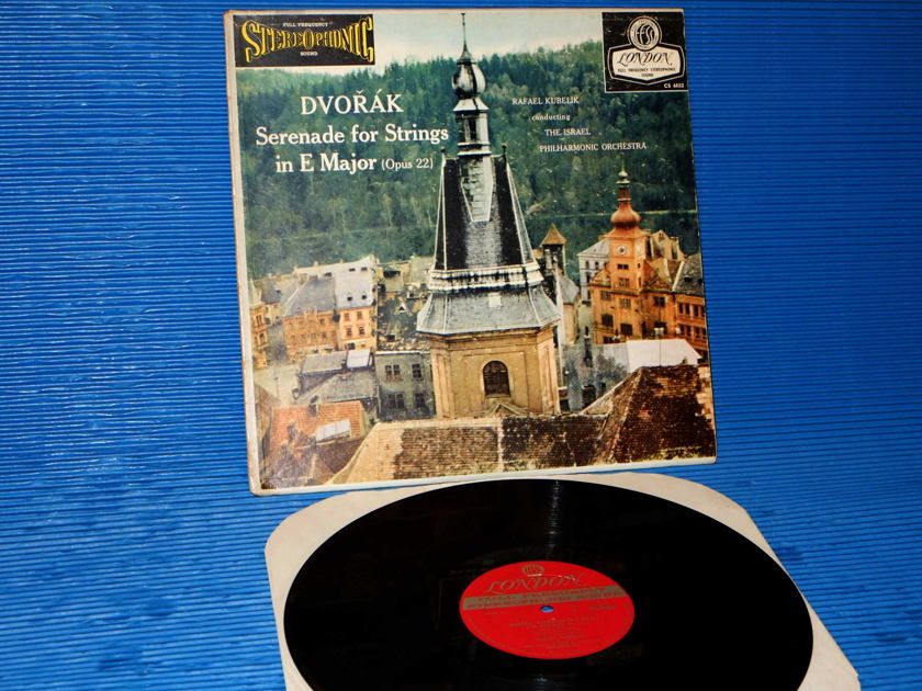 "DVORAK / Kubelik   - ""Serenade for Strings in E Major"" -  London 'Blue Back' 1958 Early Pressing"