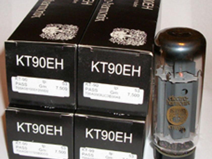 Electro Harmonix KT90 tubes brand new matched quads !