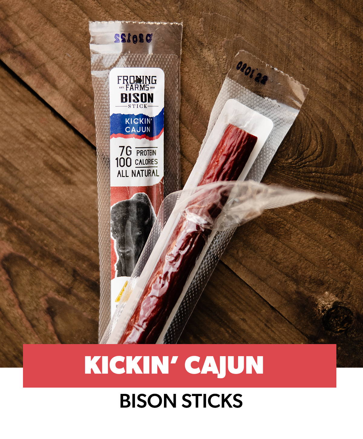 3 froning farms bison sticks