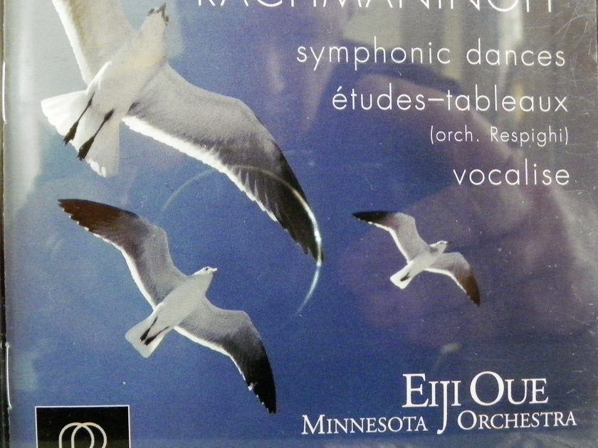 EIJI OUE - RACHMANINOFF SYM. DANCES HDCD AUDIOPHILE CD