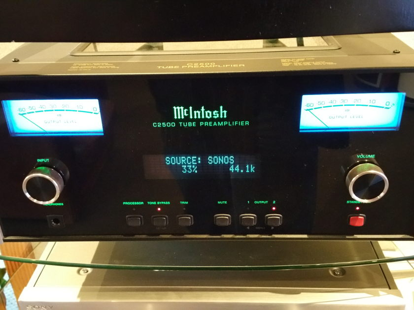 McIntosh AVC-2500 Tube pre-amp