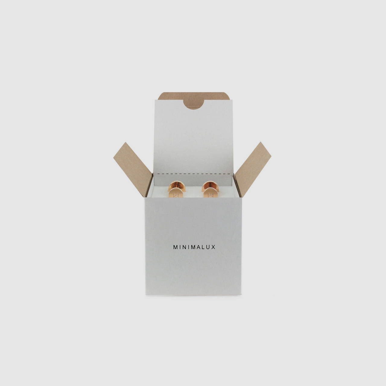 Rose Gold Cufflink packaging
