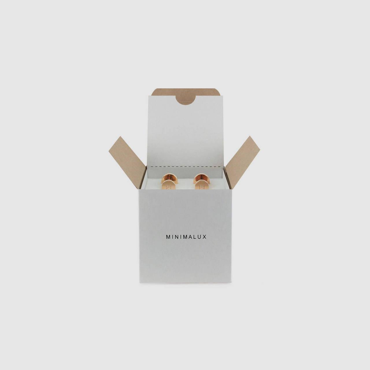 Rose Gold Cufflink packaging