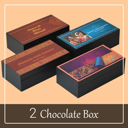 Wedding Invitation Gift Box with invitation card