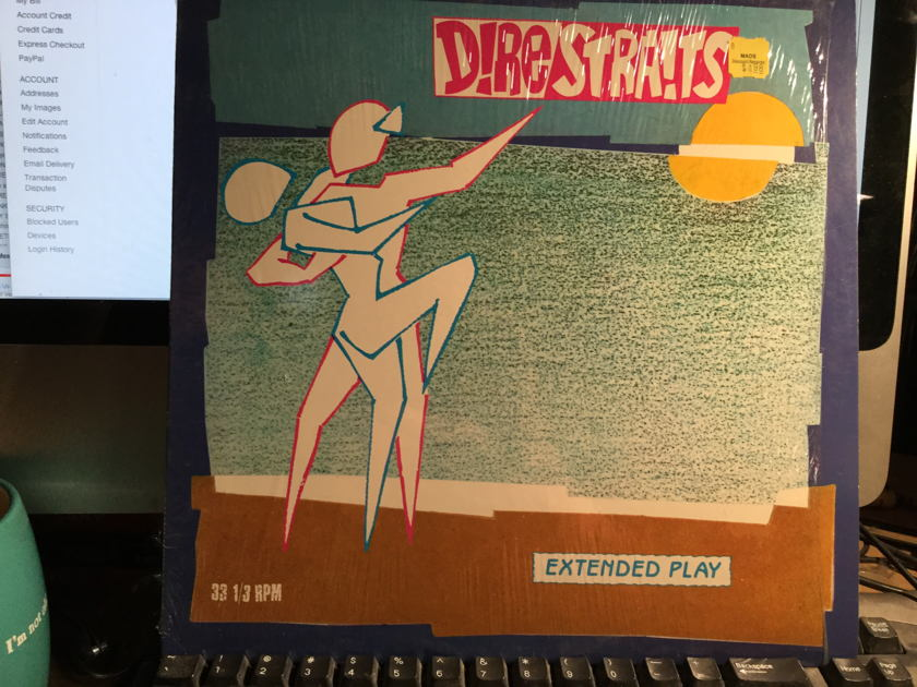 DIRE STRAITS - TWISTING BY THE POOL 33.3 EXTENDED PLAY