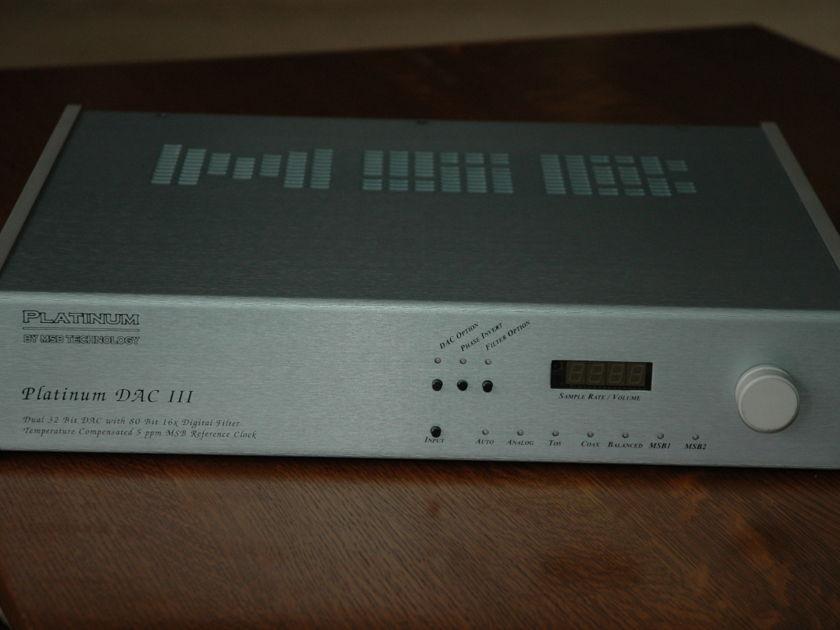 MSB DAC III latest version