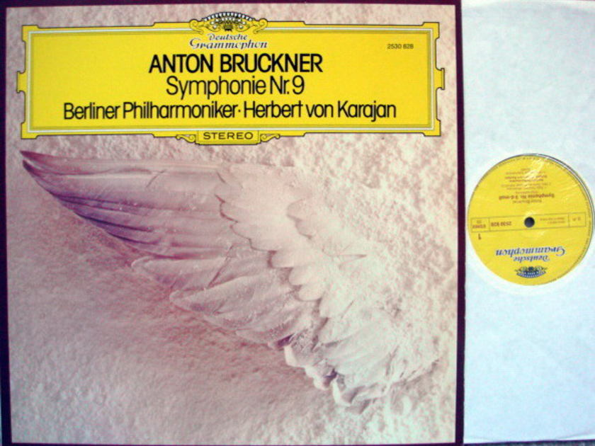 DG / KARAJAN-BPO, - Bruckner Symphony No.9, NM-!