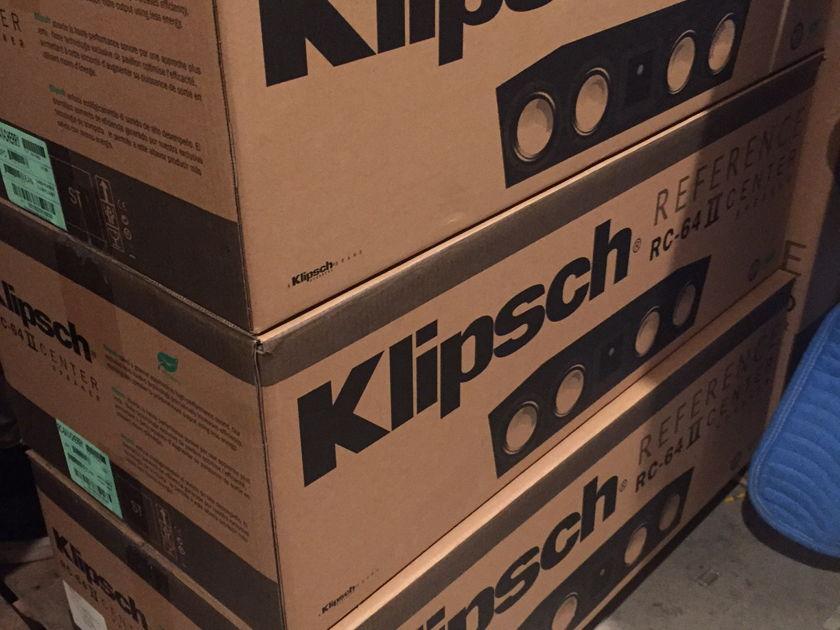 Klipsch RC-64ii brand new open box