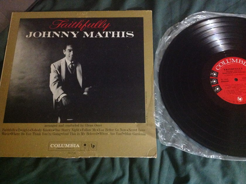 Johnny Mathis - Faithfully Columbia Six Eye MONO LP NM