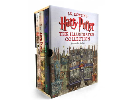 Harry Potter- First 3 books illustrated boxed set