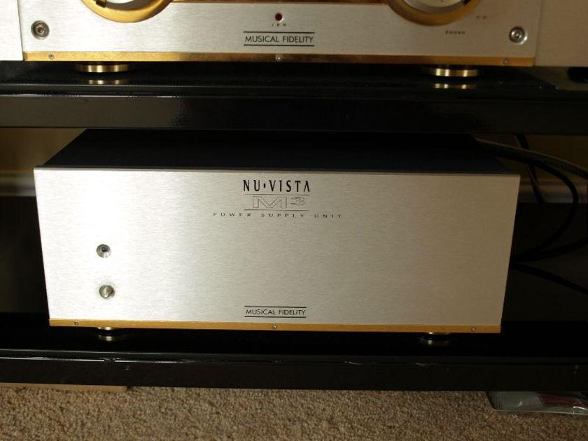 Musical Fidelity M-3 nuvista Super Amplifier