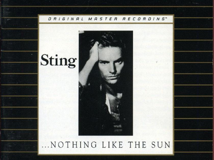 "STING - ""Nothing Like The Sun"" - MFSL GOLD CD - Mobile Fidelity Sound Labs Ultradisc I - Japan UDCD 546"